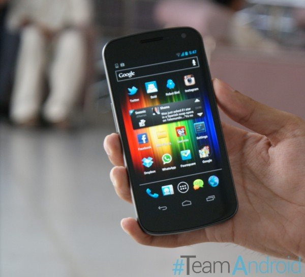 Galaxy Nexus I9250 - AOKP Android 4.2.1 Build 1 Jelly Bean