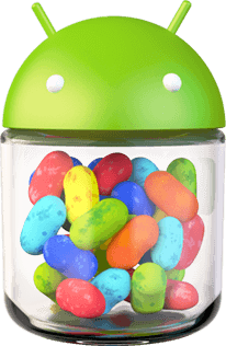 Android 4.1 Jelly Bean logo