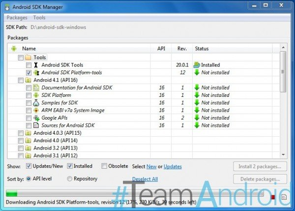 How to Set Up ADB and Fastboot with Android SDK on Windows 7 & Windows