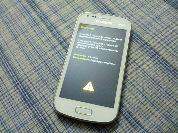 HOW TO Enter Download Mode On Samsung Galaxy S Duos S7562
