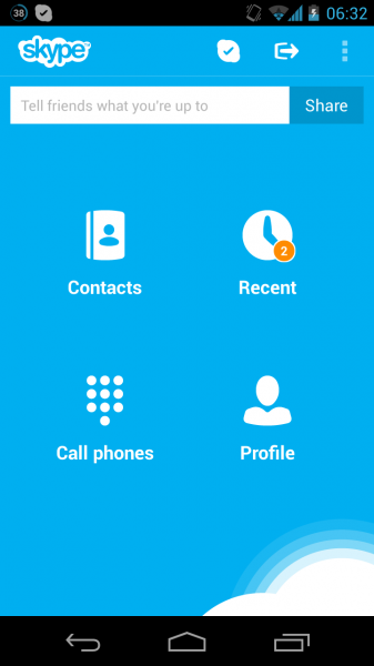 Apk skype android