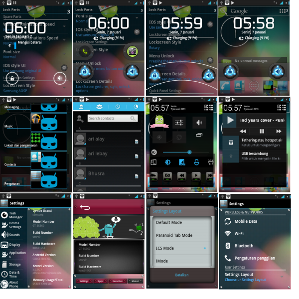 Update Galaxy Y S5360 to Android 4.2 JellyNoid Jelly Bean Custom ROM