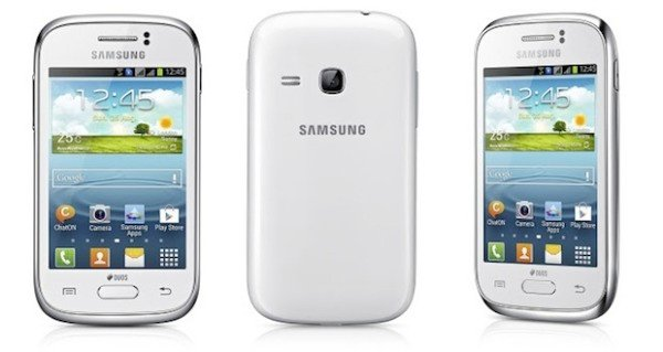 Samsung Galaxy Young GT-S6310 - XXAMC3 Android 4.1.2