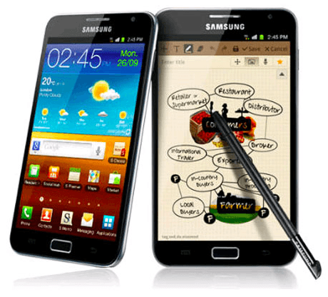 Samsung Galaxy Note N7000 - JonROM V5 DXLSE Android 4.1.2 Jelly Bean