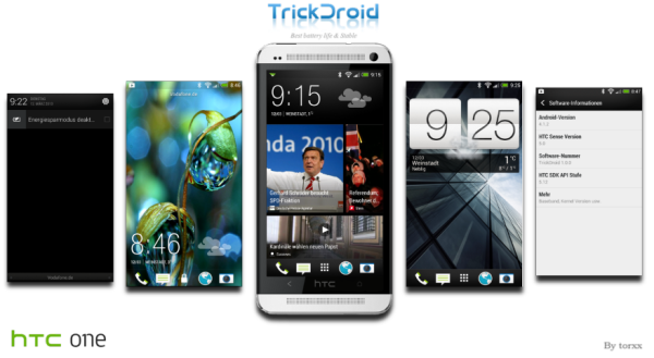 HTC One - TrickDroid Android 4.1.2 Jelly Bean