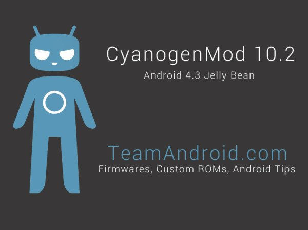 CM10.2 Android 4.3 Jelly Bean