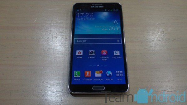 Samsung Galaxy Note 3 SM-N900 - ClockworkMod Recovery 6