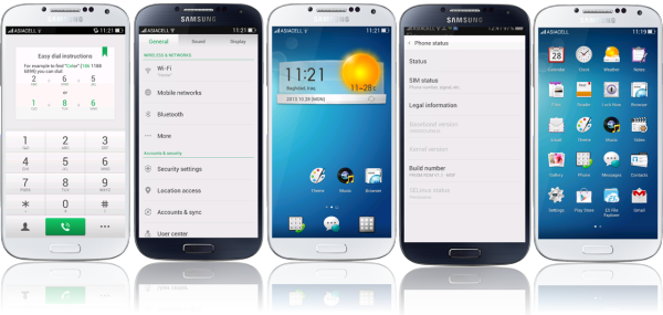 Prism ColorOS ROM for Samsung Galaxy S4