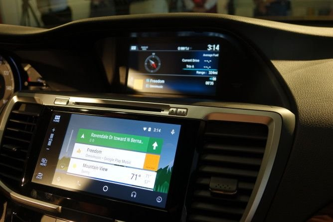 2016 honda accord will be honda 39 s first car with android auto for Honda apple play