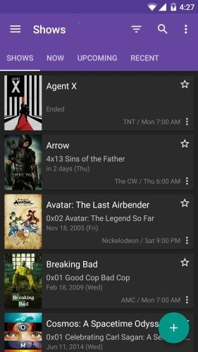 Series Guide Android