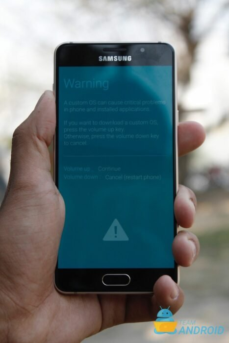 Samsung y recovery mode