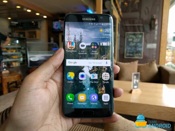 Samsung Galaxy S7 Edge - Android 7.1.2 Nougat CAOSP ROM