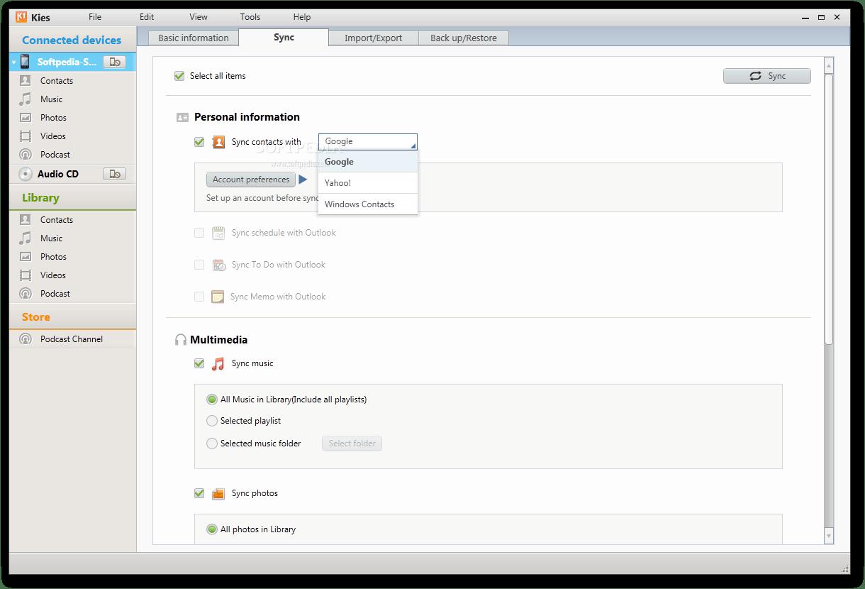 samsung kies samsung kies for windows and mac all versions