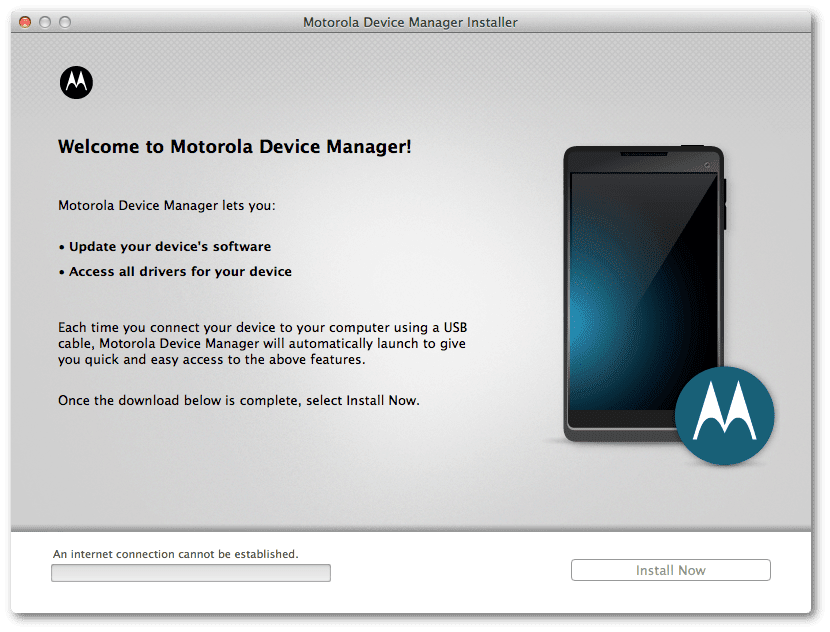motorola device manager windows 10