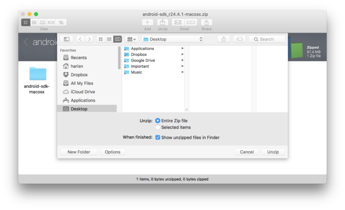 ADB, Fastboot, Android Tools on Mac