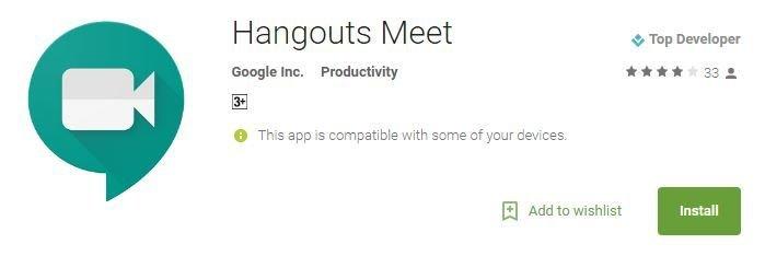 Hangouts Meet