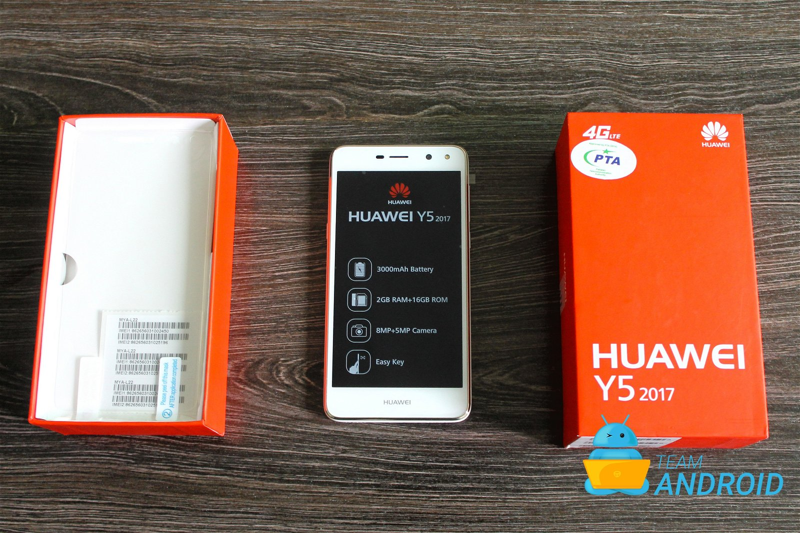 Huawei Y5 2017 Unboxing And First Impressions Pictures