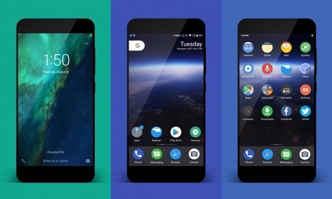 Download Google Pixel Theme For MIUI 8, 9