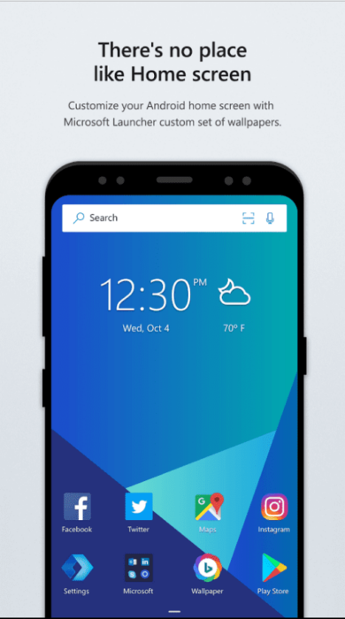 Download Microsoft Launcher APK