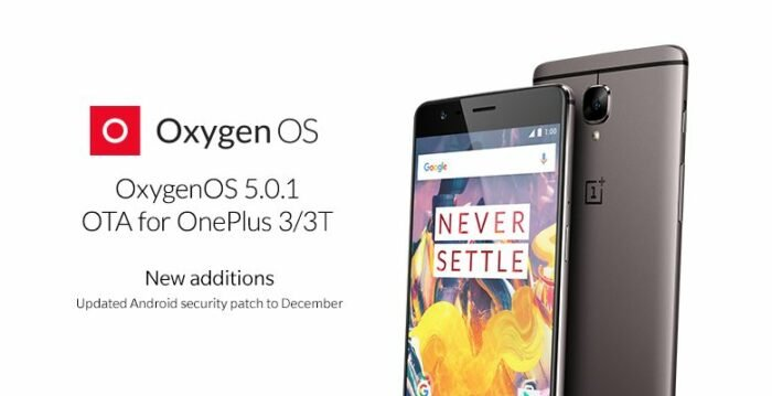 Download OxygenOS 5.0.1 OTA, OnePlus 3 OnePlus 3T