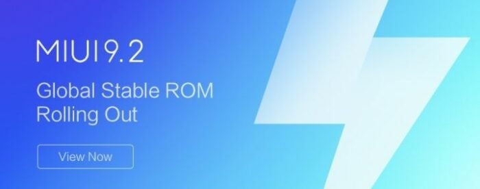Download MIUI v9.2.3 - Android 8.0 Oreo ROM
