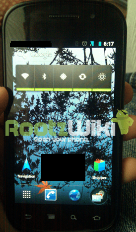 Ice Cream Sandwich Android 4.0 Screenshot