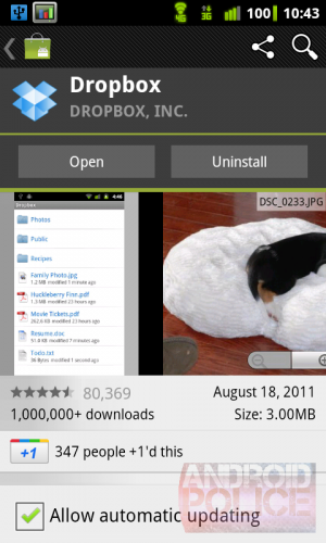 Download Android Market 3 1 3 APK - New +1 Button for Apps