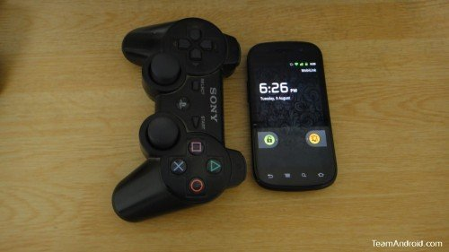 PS3 Controller and Nexus S (Android)