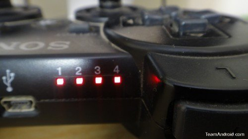PS3 Controller Lights