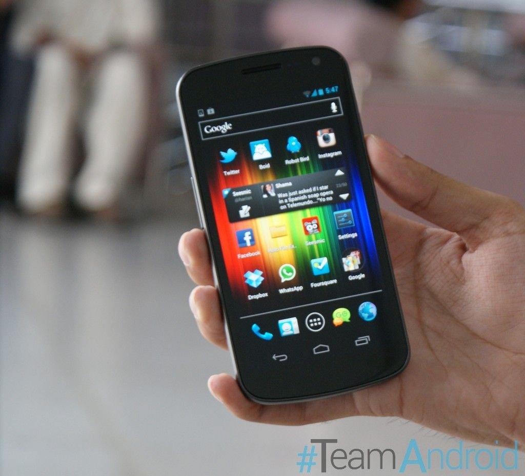 Cập nhật VZW Galaxy Nexus cho Android 4.1.1 Phần mềm JRO03C Jelly Bean 1