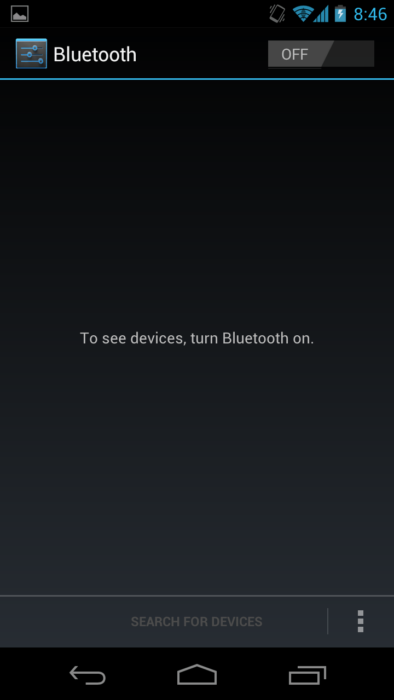 battery saving tips - turn off bluetooth