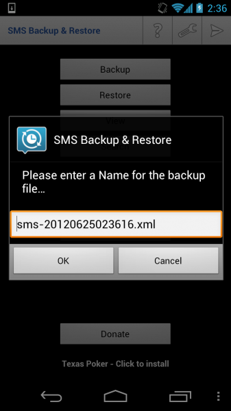 Backup SMS and Restore on Android - Download Free App 11