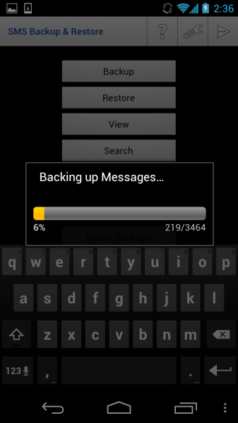 Backup SMS and Restore on Android - Download Free App 12
