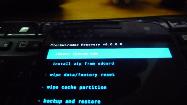 How to Install Touch ClockworkMod Recovery 6 on Galaxy Nexus I9250 17