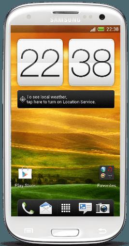 Samsung Galaxy S III Sense 4.0 Port from HTC one X 6