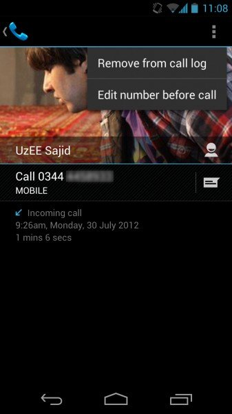 How to Remove Name / Number from Call Log in Android Phones 6