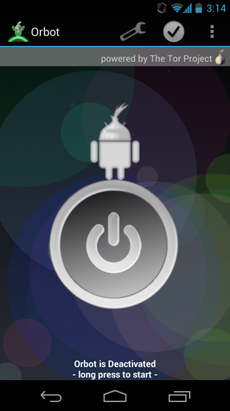 Fix Orbot (Tor) on Android 4.1 Jelly Bean Devices 9