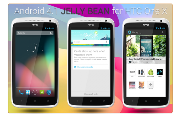 HTC: Jelly Bean to One X and S Lets Wait for It