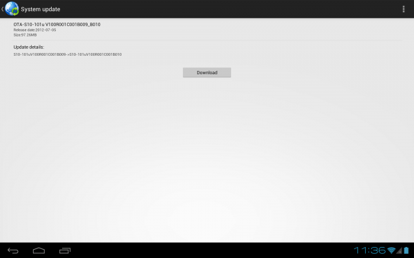 Update Huawei MediaPad 10 FHD to B010 Android 4 0 4 [How To