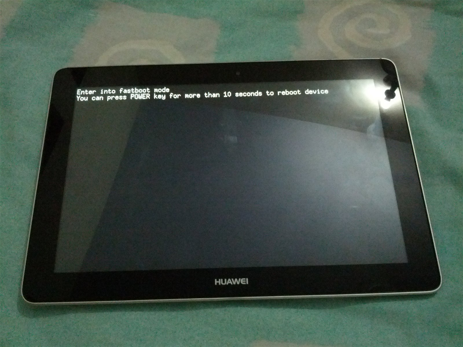 Huawei MediaPad 10 FHD: Fastboot / Bootloader Mode [How To]