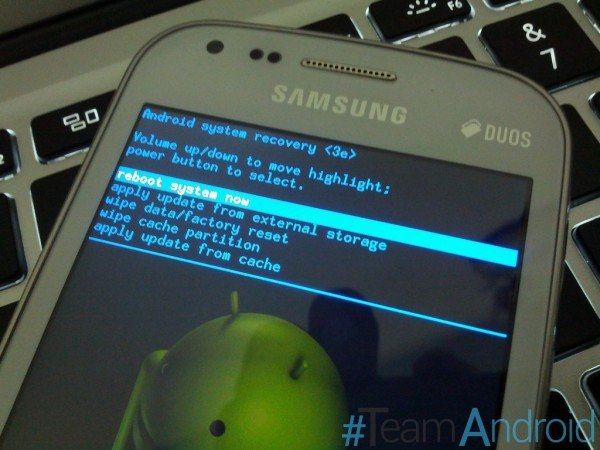Enter Recovery Mode On Galaxy S Duos S7562 How To