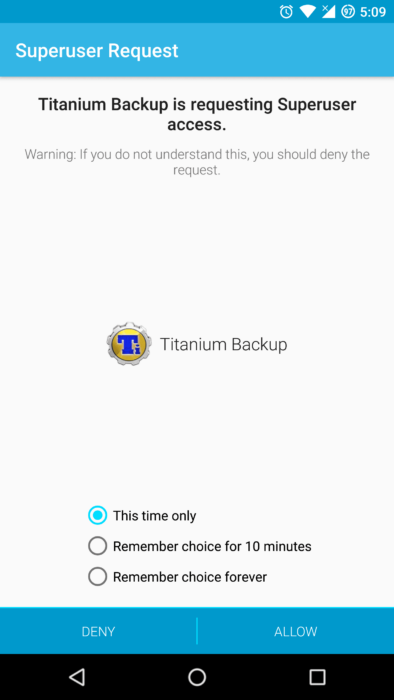 How to Backup and Restore Apps with Titanium Backup 11