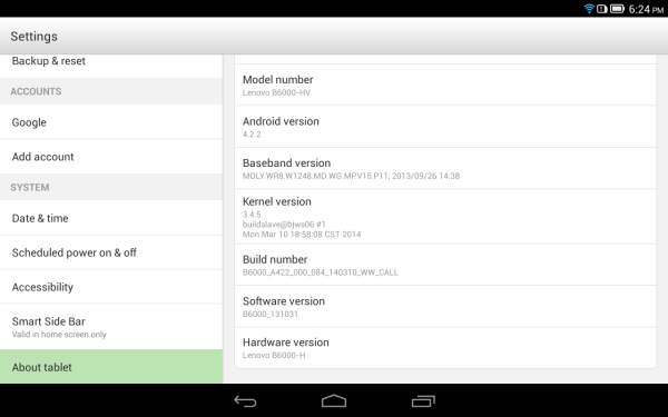 Yoga-Tablet-8-About-Android-4.2.2