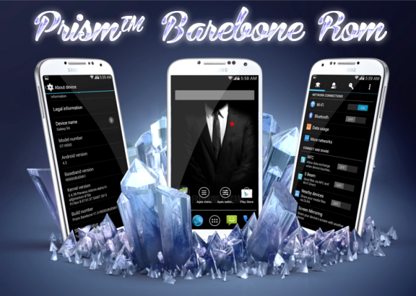HOW TO: Install Android 5 0 1 Prism Barebone on Galaxy S4 I9500