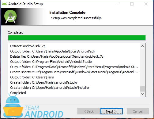 Install Android Studio - Setup Wizard 7