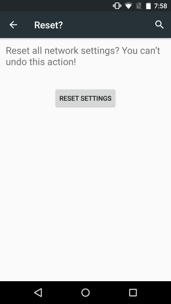 err_connection_reset android emulator