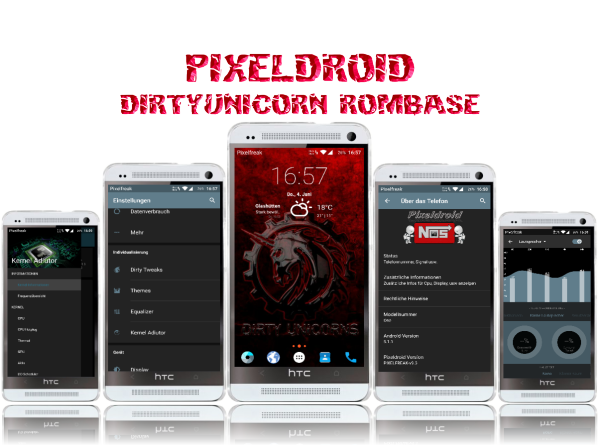 Install Android 5 1 1 on HTC One (M7) PixelDroid Lollipop