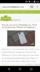 QMobile A1 Review - First Android One Phone in Pakistan 21