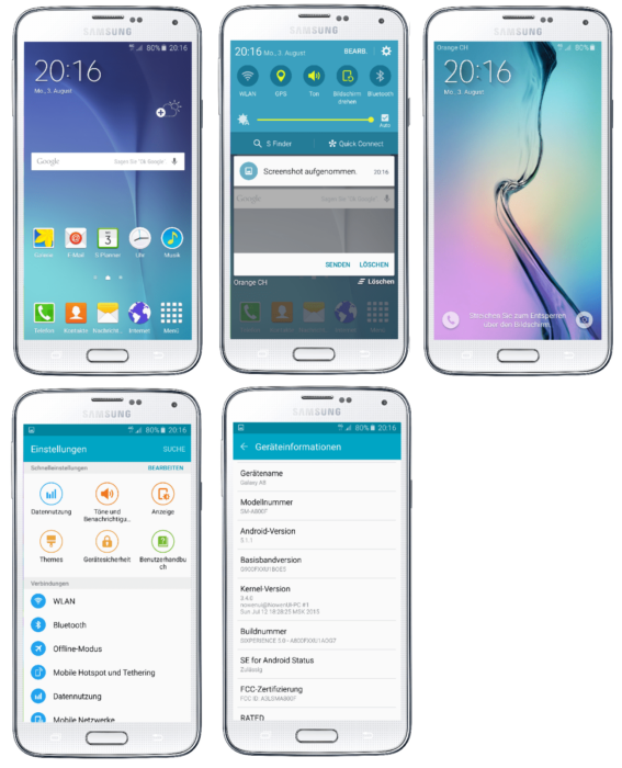 Update Galaxy S5 LTE G900F to Android 5 1 1 SIXPERIENCE Lollipop