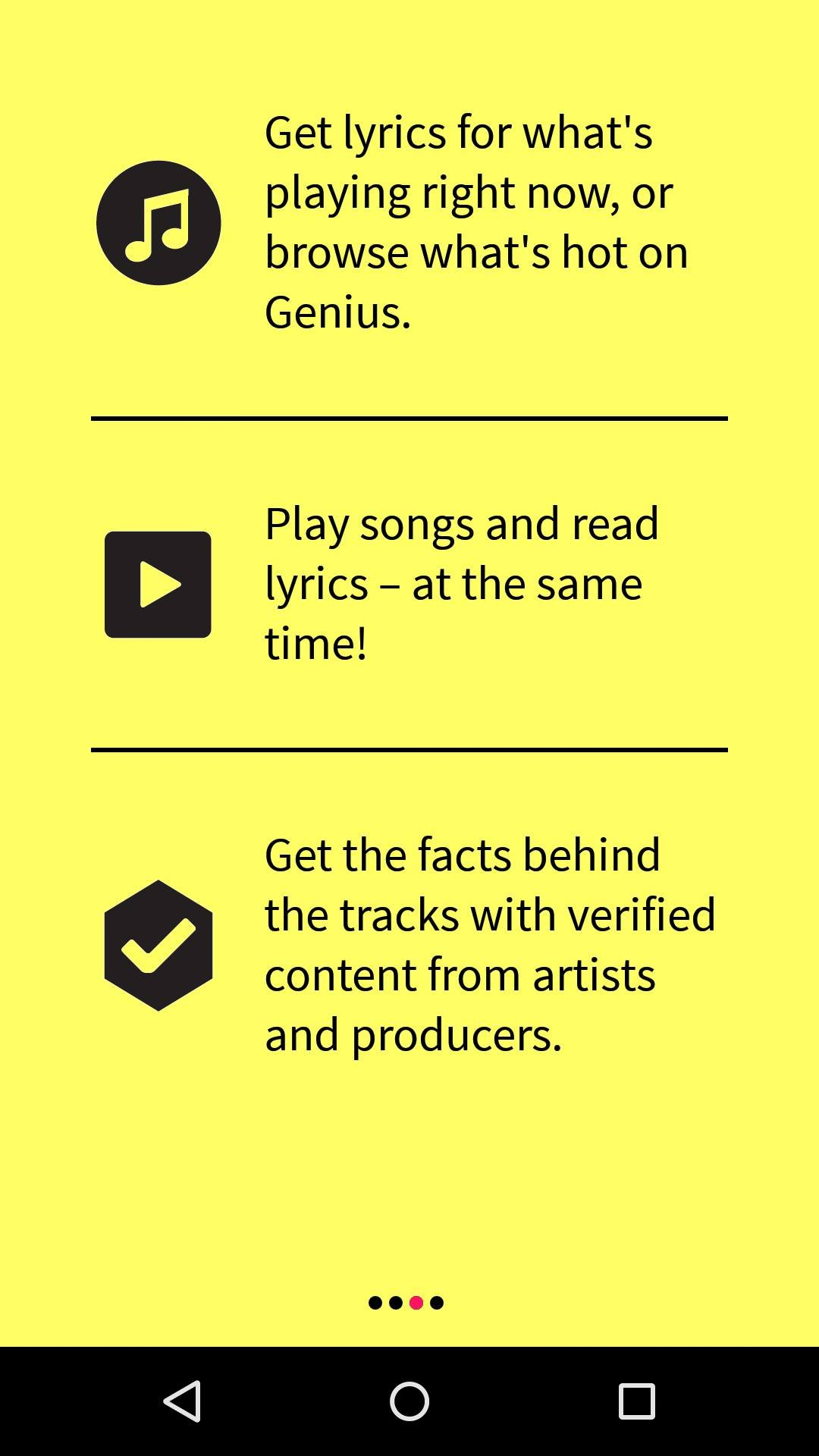 Find Song Lyrics and their meanings using Genius – Song Lyrics App 12
